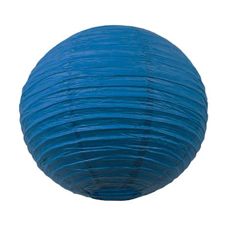 Lanterne chinoise 35 cm bleu santorini for Lanterne interieur