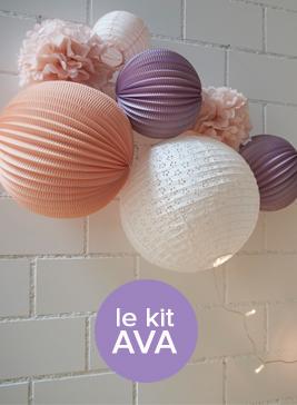 Kit de lampions pour décorer une chambre d'enfant