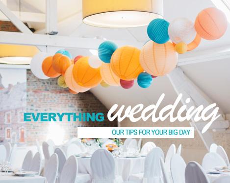 Paper lanterns wedding decor ideas