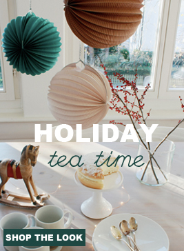 pastel shades for Holiday decor