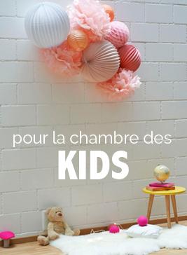 lampions et boules en papier pour la chambre de votre bébé