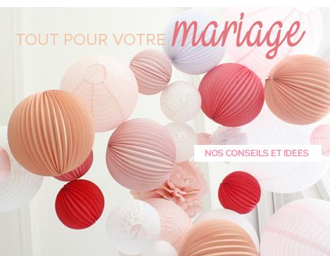 Conseils et idées de décoration de mariage