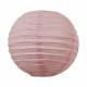 Lanterne chinoise - baby - Macaron à la rose
