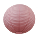 Lanterne chinoise - 35cm - Macaron à la rose