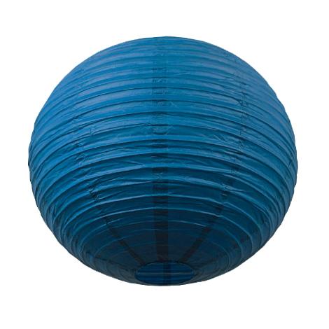 Lanterne chinoise - 50cm - Bleu santorini