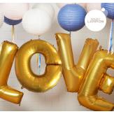 L.O.V.E maxi balloons kit