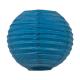Lanterne chinoise - baby - Bleu santorini