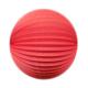 Accordion lantern - 20cm - Watermelon hues