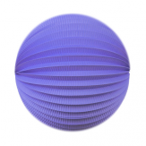 "Lampion rond - 20cm - ""It-blue"""