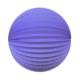 "Lampion rond - 20cm - ""It-blue"""