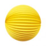 Lampion rond - 30cm - Jaune whizz