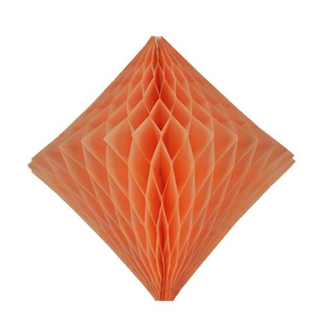 Diamant alvéolé - 30cm - Velouté de pêche
