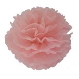 Paper pompon - 40cm - Sugar rose