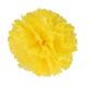 Pompon en papier - 40 cm - Jaune bouton d'or