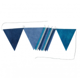 Flags garland - 2m - Blue dream