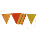 Flags garland - 2m - Yellow dream