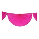 Tissue fans bunting - 3 m - Vitamine pink