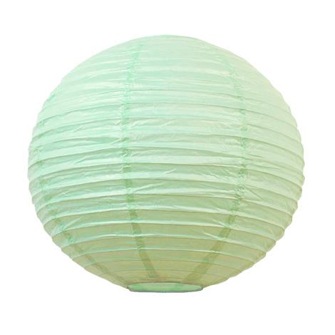 Lanterne chinoise - 35cm - Vert aquarelle