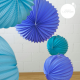 Lampions ronds dans différents coloris