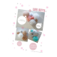 Paper lanterns kit - SUZANNE