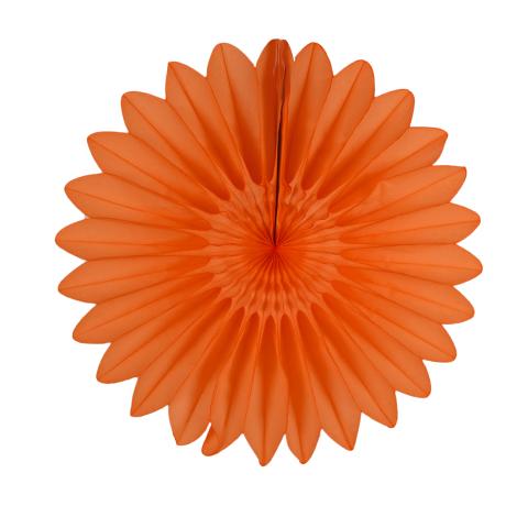 Rosace en papier - 45cm - Menthe givrée