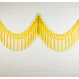 Streamer garland - 3,5m - Pacman yellow