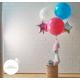 Ballon géant et franges