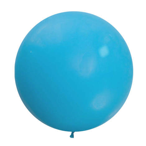 Baby blue giant balloon
