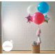 giant balloon with tassel garland