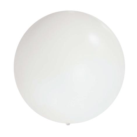Ballon géant - 90cm - Blanc