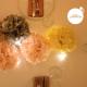 Paper pompom - 25cm - Summer peach