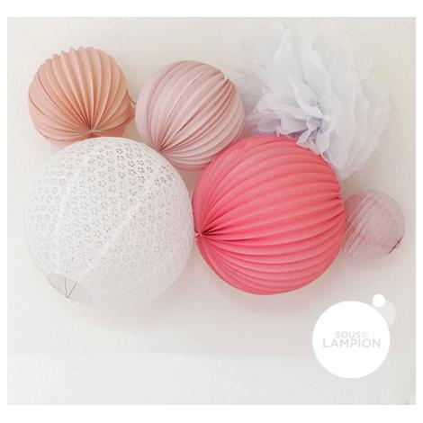 Paper lanterns kit - Zoé