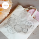 Tote bag Sous Le Lampion