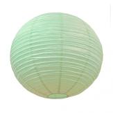 Large light green paper lantern