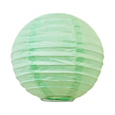 Paper lantern - 15cm - Watercolor green