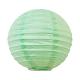 Mini lanterne en papier vert d'eau