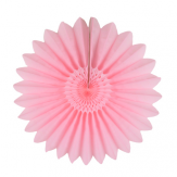 Paper fan - 35cm - Pretty in pink