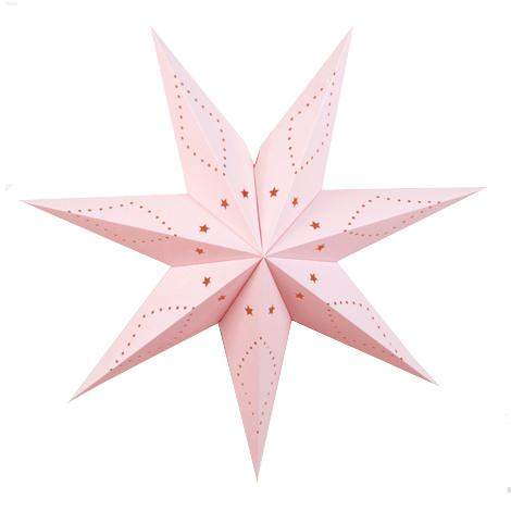 petite étoile déco rose