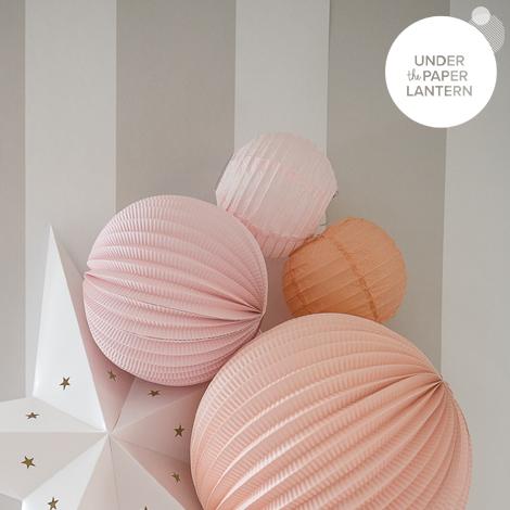6'' New Celadon Paper Lantern
