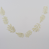 Leaf garland - 1,50 m - Fresh green