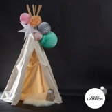 kit de lampions pour décorer un tipi ou une cabane