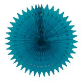 Honeycomb fan in dark blue color for party backdrop