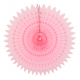 light pink honeycomb paper fan for party backdrop