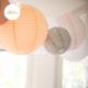 Lanternes ajourées tailles variables