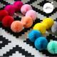 Honeycomb ball - 12cm - Peach smoothie