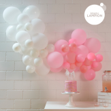 Easy to create balloon garland
