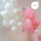Guirlande de ballons facile à construire pour décorer un buffet