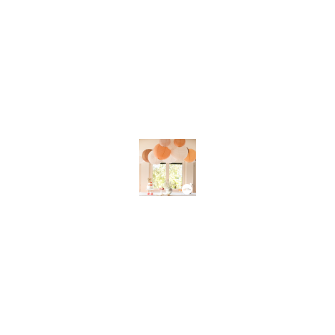 Eyelet lantern - 35cm - White