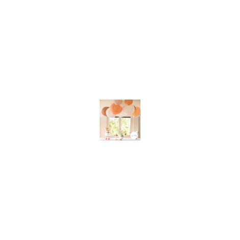 Lanternes ajourées et dentelles de taille variable