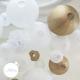 Paper lantern - 35cm - Gold